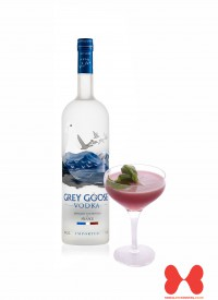 Grey Goose Blueberry & Basil Martini