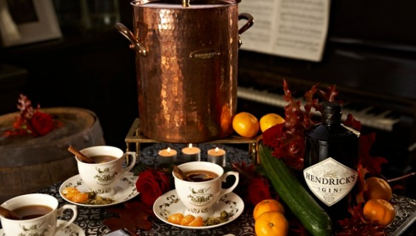 Christmas Punch Concoctions with Hendricks Gin