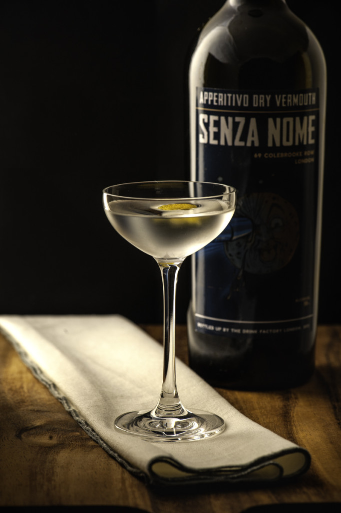 Senza Nome Martini Cocktail