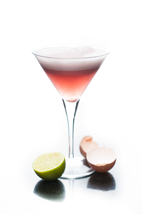 Pink Orchid Cocktail