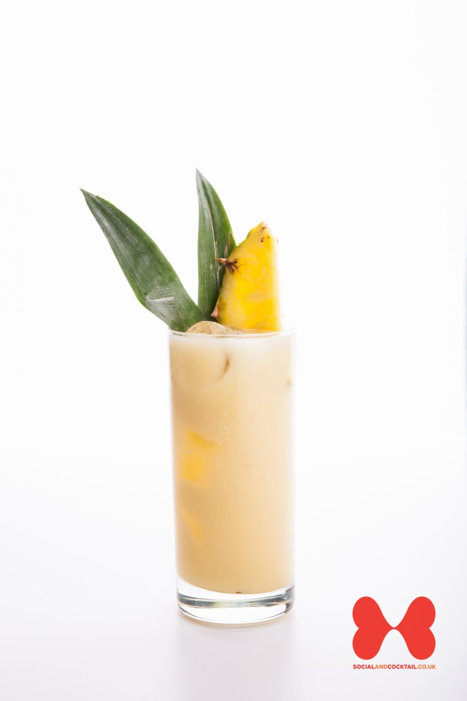 Make A Drink In A Pineapple