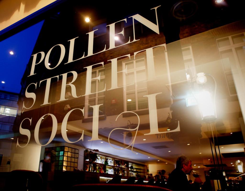 Pollen Street Social exterior shot