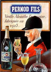 absinthe-poster Swiss flag