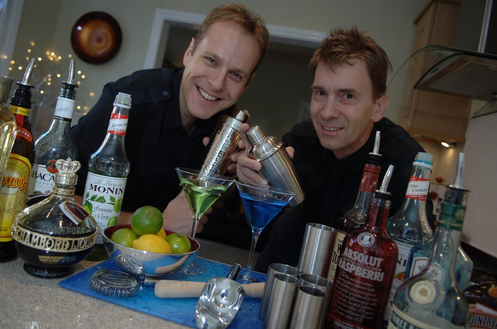 Cocktail Parties at Home with the Shaker Boys